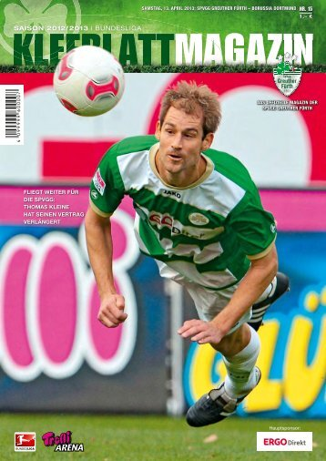 Nr. 15 Borussia Dortmund 13.04.2013 - SpVgg Greuther Fürth