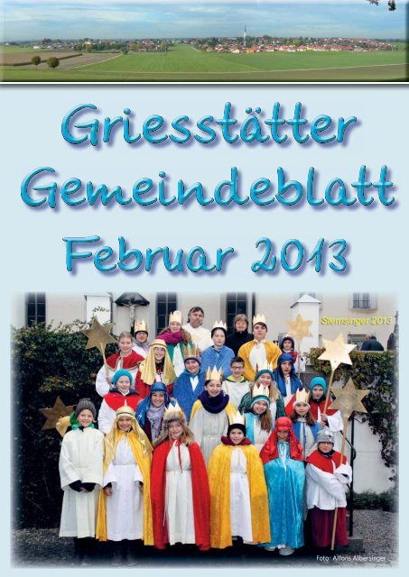 Gemeindeblatt Februar 2013 - Griesstätt