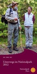 Unterwegs im Nationalpark 2012 - Gesellschaft zur Förderung des ...
