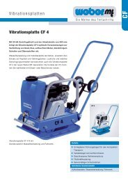 Vibrationsplatten Vibrationsplatte CF 4 - Grotemeier GmbH &  Co. KG
