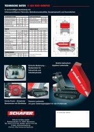 72452 Mini-Dumper 8-03 - Grotemeier GmbH &  Co. KG