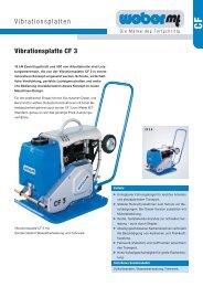Vibrationsplatten Vibrationsplatte CF 3 - Grotemeier GmbH &  Co. KG