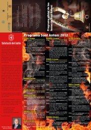2012. Programa de festes - Sant Antoni de sa Pobla