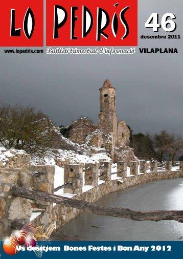 n. 46 (desembre 2011) - Lo Pedris
