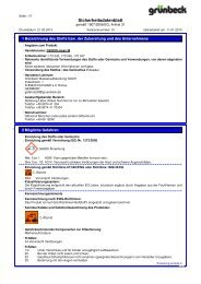 SDB GENO-clean M DE - Grünbeck Wasseraufbereitung GmbH