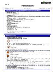 SDB GENO-Chlor A DE - Grünbeck Wasseraufbereitung GmbH