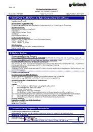 SDB GENO-Baktox A DE - Grünbeck Wasseraufbereitung GmbH