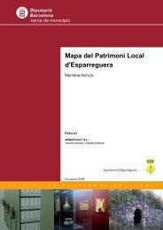 Mapa del Patrimoni Local d'Esparreguera - Mapes de patrimoni ...