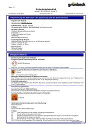 SDB GENO-Neutrox BE-D - Grünbeck Wasseraufbereitung GmbH