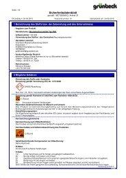 SDB Neutralisationsmittel Typ FNK BE-D - Grünbeck ...