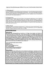 Allgemeine Geschäftsbedingungen (AGB) der ... - Buchhandel.de