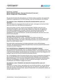 Schriften-Wirrwarr - Grundschulverband