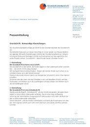 Pressemitteilung - Grundschulverband