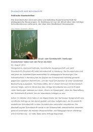 Politische Handschriften - Grundschulverband