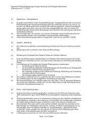 Allgemeine Einkaufsbedingungen - G+H Isolierung GmbH