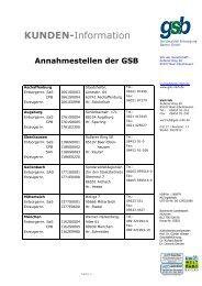 18 Punkt Verdana fett - gsb Sonderabfall-Entsorgung Bayern GmbH