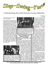 Vereinszeitung Nr. 78, Juli 1999 - Gelb Schwarz Casino München eV