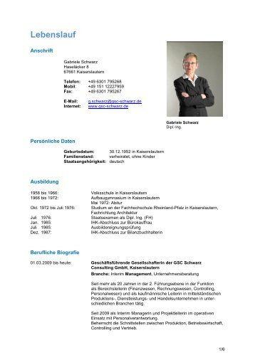 Lebenslauf - Mag. Alois Czipin Czipin Consulting