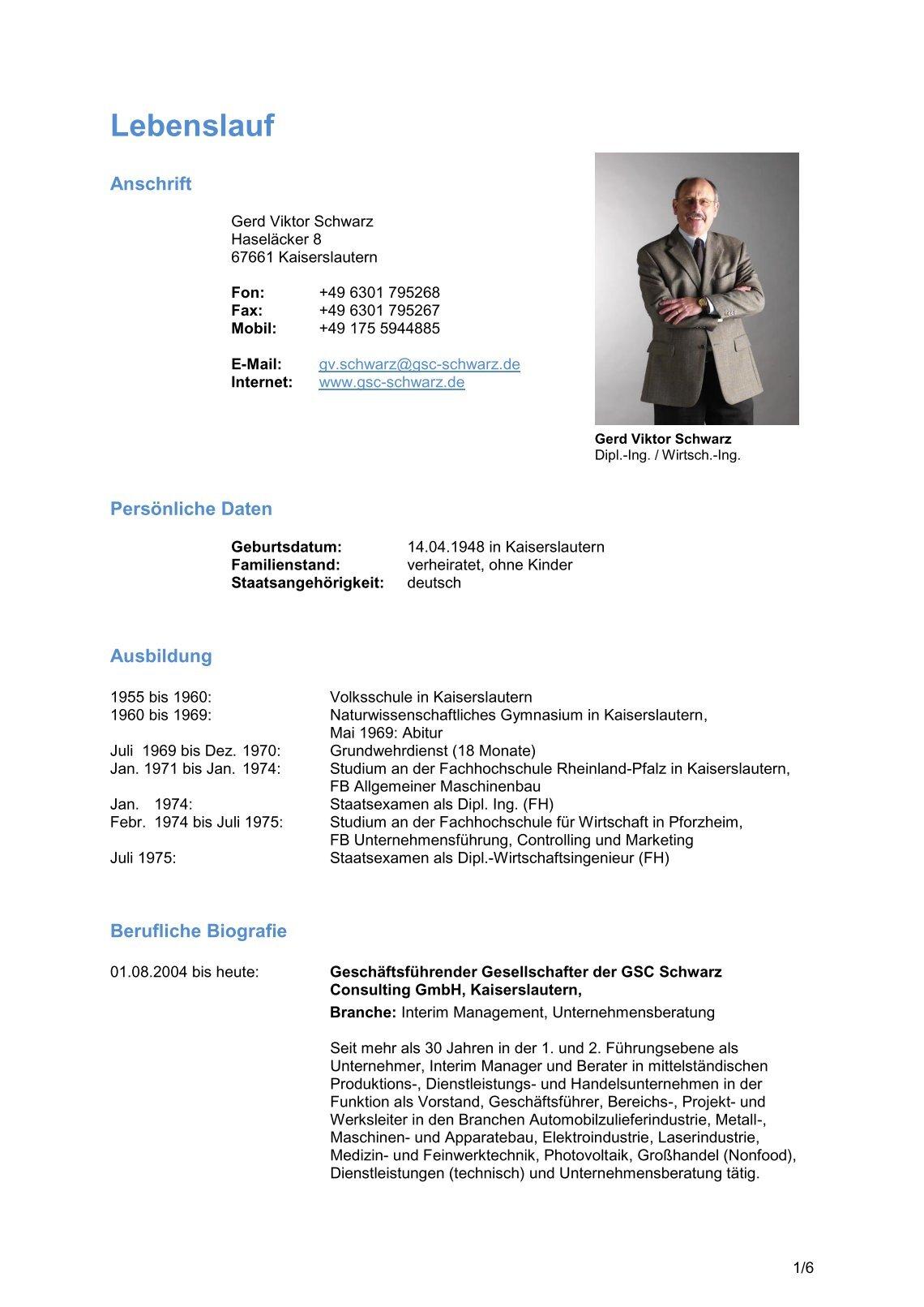 Ausgezeichnet Lebenslauf Coaching Berater Fotos - Beispiel Business ...