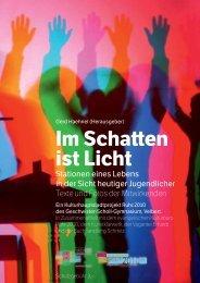 Programmheft – Im Schatten ist Licht - Gerd Haehnel