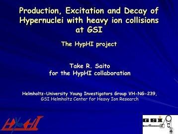 HypHI - GSI
