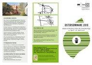 Osterseminare 2010 - Gustav Stresemann Institut Niedersachsen