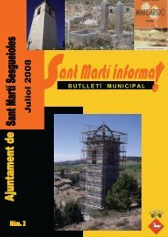 Sant Martí Informa. Butlletí núm. 2 - Juliol 2008