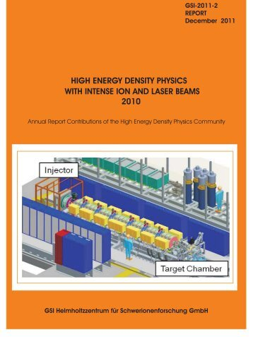 with intense ion and laser beams 2010 high energy density ... - GSI