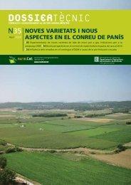 Dossier Tècnic núm. 35 sobre Noves varietats i nous ... - RuralCat