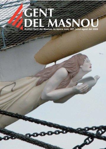 Butlletí nº 267, juliol i agost 2009 - Gent del Masnou