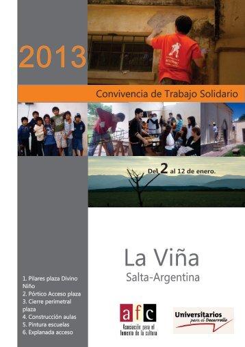 La Viña Final 2013 D.cdr - Universitarios para el Desarrollo
