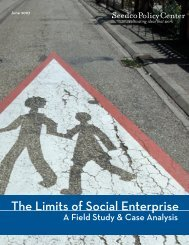 The Limits of Social Enterprise A Field Study & Case - Social Traders