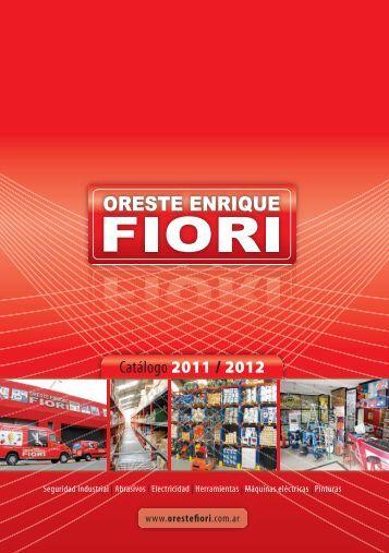 catálogo completo - Oreste Enrique Fiori
