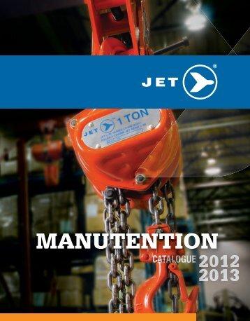 palans à chaîne - Jet Equipment