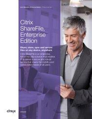 Citrix ShareFile, Enterprise Edition