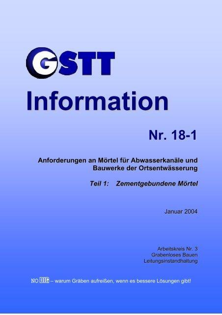Nr. 18-1 - GSTT