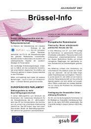 Brüssel-Info - gsub