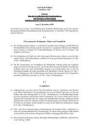 Streupflichtsatzung Bad Wildbad Landkreis Calw - gsw sigmaringen