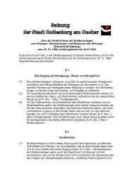 Streupflicht-Satzung - Stadt Rottenburg am Neckar