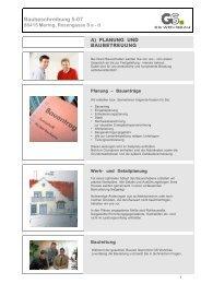 Baubeschreibung 5-07 - GS Wohnbau Augsburg