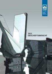 2011 GESCHÄFTSBERICHT - Gemeinnütziges Siedlungswerk GmbH