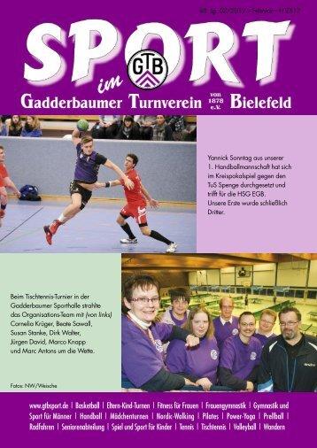 Ausgabe Februar 2012 - Gadderbaumer Turnverein v. 1878 eV ...