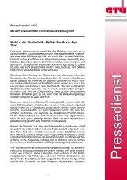 Licht in der Dunkelheit - Selbst-Check vor dem Start (pdf, 86.3 ... - GTÜ