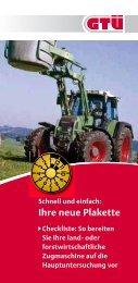 Checkliste zur Vorbereitung auf die Hauptuntersuchung für lof ... - GTÜ