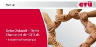 Ausbildungsinformationen zum Industriekaufmann - GTÜ