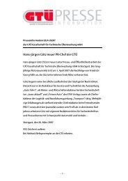 Hans-Jürgen Götz neuer PR-Chef der GTÜ (pdf, 39.5 kB)