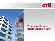 Präsentation zur Jahrespressekonferenz 2011 (pdf, 413.6 kB) - GTÜ