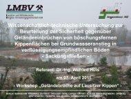 Vortrag - GUB Ingenieur AG