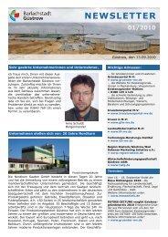 newsletter 01/2010 - Barlachstadt Güstrow