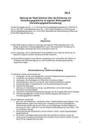 Satzung der Stadt Güstrow über die Erhebung von ...